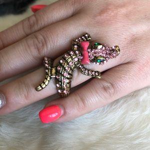 Betsey Johnson gator ring